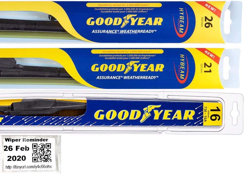 Windshield Wiper Blade Set Kit RX350 Lexus for 2016-2019 海外限定 Bundle 半額