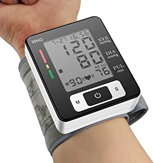 XINHUANG Blood Pressure Monitor Fully Automatic Accurate Wrist Automatic Wrist Electronic Sphygmomanometer Meter Monitor H...