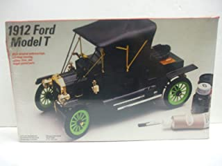 1912 Ford Model T - 1/16 Scale Unassembled Model Car Kit by Testors