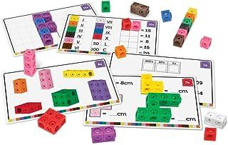 comprar comparacion Learning Resources- Set para adquirir soltura en matemáticas Cubos MathLink, Color (LSP4299UK)
