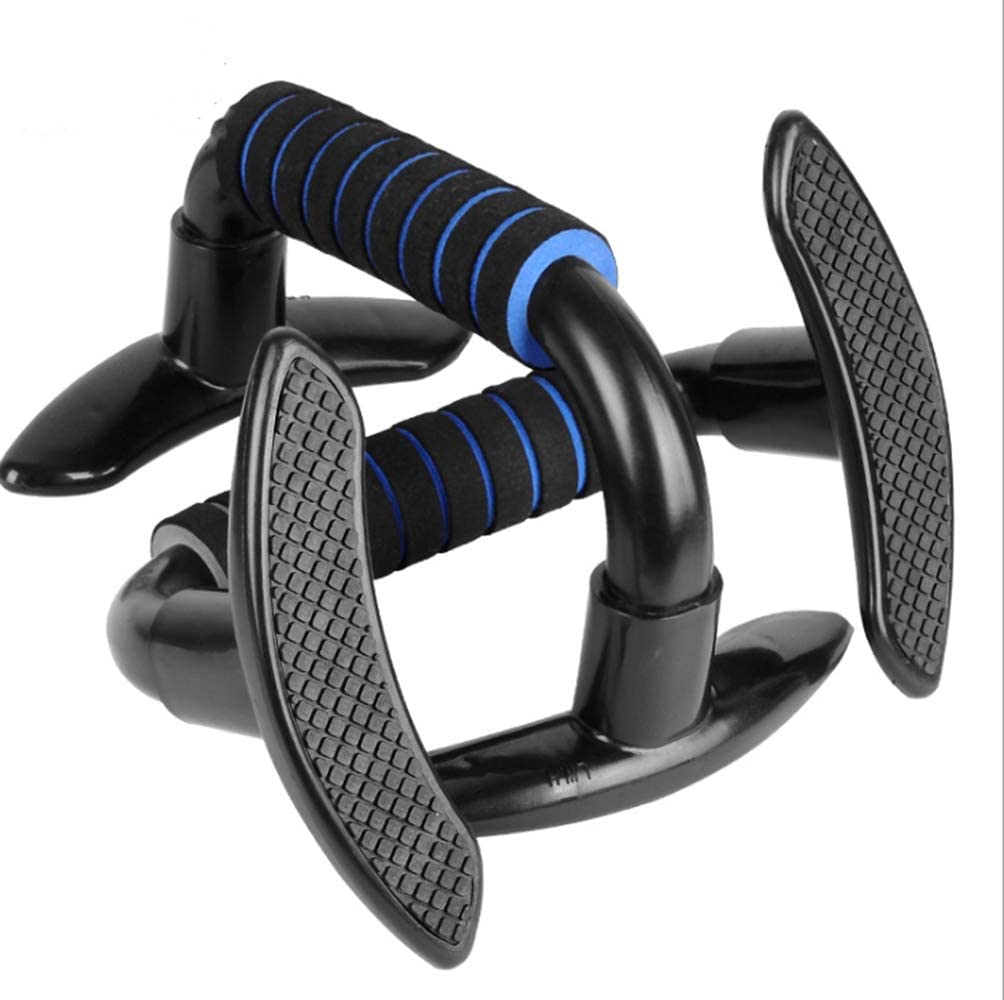 Non Slip Stands Grips I-shaped Push-up Bracket Base Workout Fitness Equipment LH
