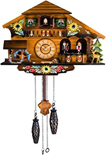 Kintrot Cuckoo Clock Pendulum Quartz Wall Clock Black Forest House Home Decor