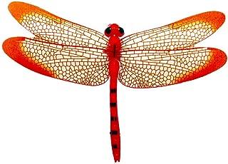 🍀Libobo🍀1Pc 3D Dragonfly Shape Fridge Fridge Magnet Refrigerator Sticker Home Decor Set (Red)