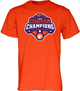 Clemson Tigers National Champs Tshirt 2018-2019 Icon Orange