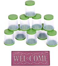 Vardhman Rangoli Plastic Filler, Standard(Multicolour) - Set of 10