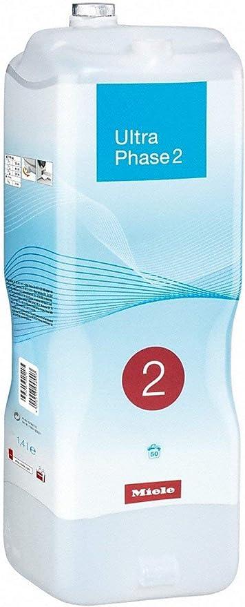 376 opinioni per Miele UltraPhase 2, Detersivo TwinDos, Capi bianchi e colorati, 1.4 lt, 50
