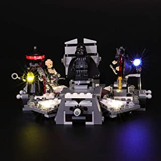 BRIKSMAX Led Lighting Kit for Star Wars Darth Vader Transformation - Compatible with Lego 75183 Building Blocks Model- Not Include The Lego Set