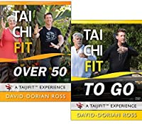 Bundle: Tai Chi Fit OVER 50 & TO GO with David-Dorian Ross/Beginner DVDs for Balance and Stability [並行輸入品]