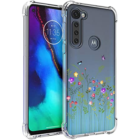 Bumper Phone Cover for Motorola Moto G Stylus 2021 6.81 inches Clear Transparent Soft Silicone TPU Shock Absorption Protective Shell Case HHUAN Phone Case for Motorola Moto G Stylus 2021