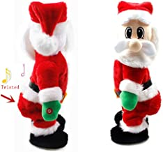 urwonder Funny Christmas Santa Claus Twisted Hip Twerking Singing Ornaments Best Gifts for Children