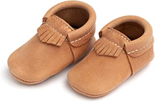 Freshly Picked - Soft Sole Leather City Moccasins - Baby Girl Boy Shoes - Infant Sizes 1-5 - Multiple Colors
