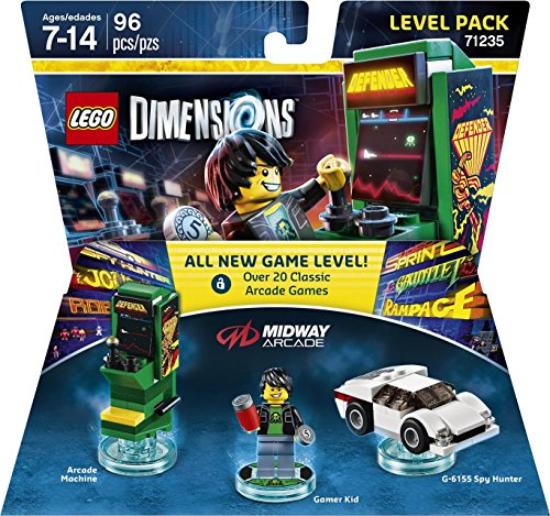 Lego Dimensions Midway Retro Gamer Level Pack