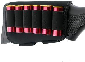 jkbfyt Tactical Shotgun Cartridge Holder Military 6 Shots 12 20 Gauge Shotgun Shell Bandolier Gauge Ammo Holder