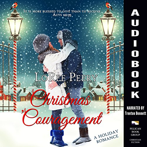 Christmas 'Couragement  audiobook cover art
