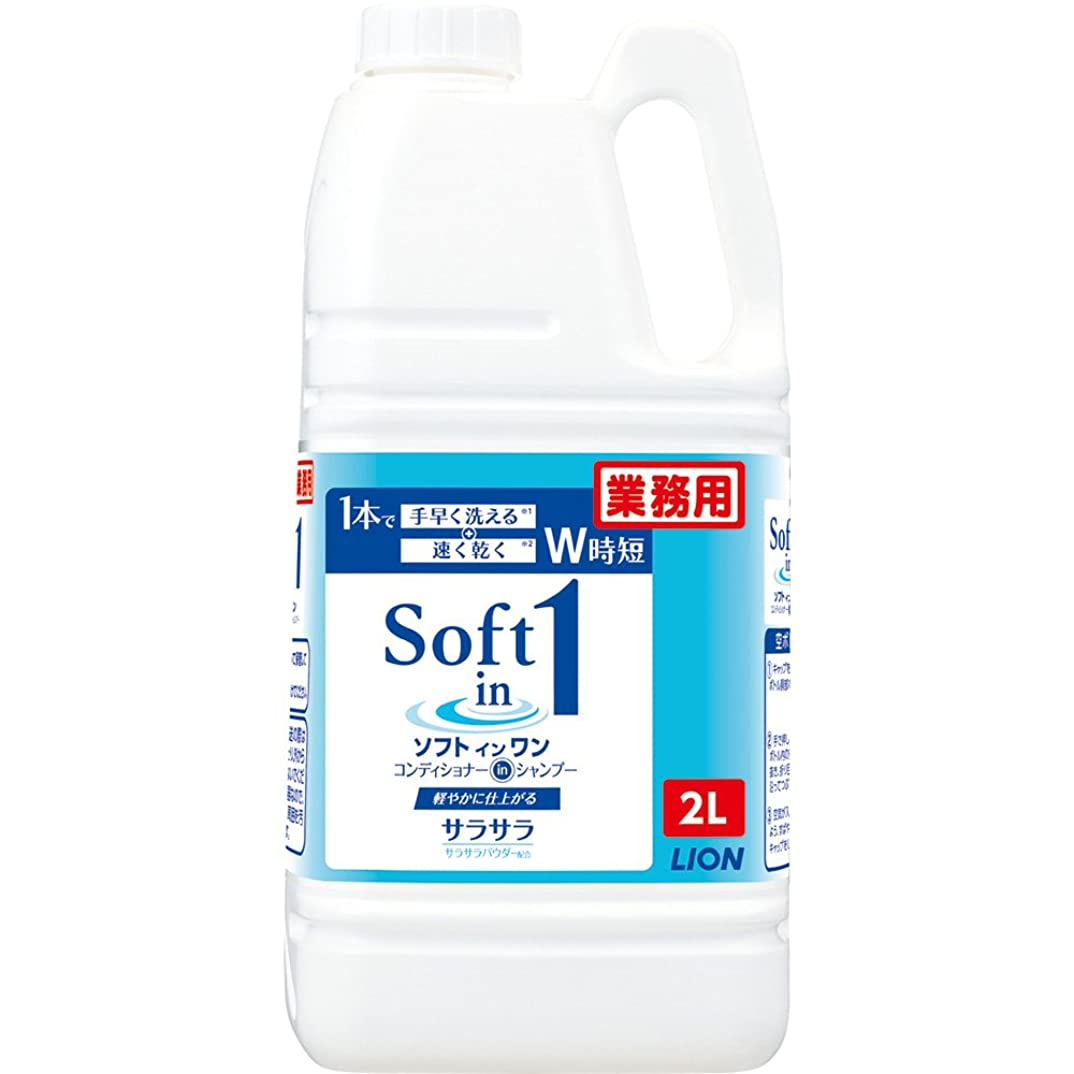 ラリーベルモントアソシエイト口ひげ【大容量】ソフトインワンシャンプー 2L
