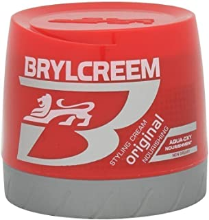 Brylcreem Aqua-Oxy Hair Styling Cream, Original Nourishing, 125 ml
