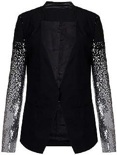valore eccezionale Guantity limitata store Amazon.it: Elegante con Paillettes - Giacche e cappotti ...