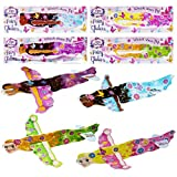 THE TWIDDLERS 48 Planeadores Voladores de Aviones de Hadas - Avión Juguetes Princesa para...