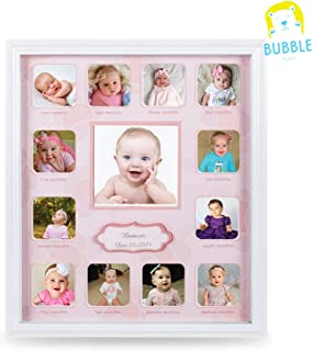 Collage Photo Frame for Baby First Year Keepsake - Multi...