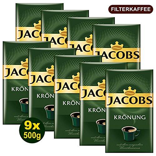 Jacobs KRÖNUNG gemahlen 9x 500g (4500g) - Jacob's Filterkaffee, Kaffee