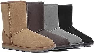 UGG Boots Short Classic - Premium Australian Sheepskin, Water Resistant Non-Slip