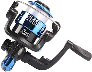 Front Unloadingforce Spinning Reel 5.2:1 3bb Interchangeable Rocker Fishing Reel Jl200 Front Unloading Spinning Wheel 3 Axis 5.2:1 Left And Right Hand Interchangeable Fishing Wheel Blue