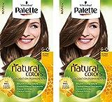 Schwarzkopf - Palette Natural Colors - Coloration Permanente Cheveux - Blond Foncé 6.0  - Lot de 2