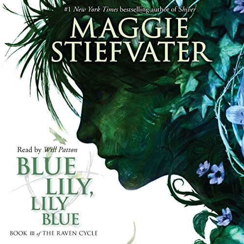 Blue Lily, Lily Blue audiobook cover art