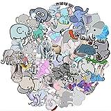 Elephant Stickers for Laptop 50 Pcs Vinyl Waterproof...