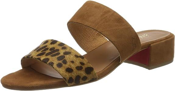 TALLA 37 EU. Joules Kayleigh, Zapatos de tacón con Punta Abierta Niñas