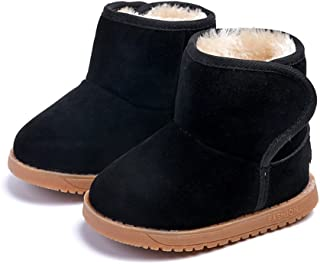 Winter Warm Fur Boots for Toddler Boy Girl Soft Winter Snow Boots Plush Shoes