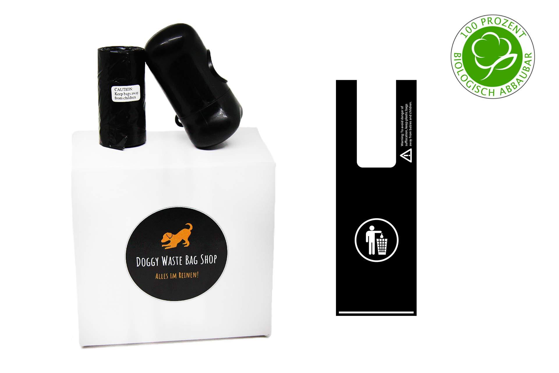 bolsas para excrementos de perro con asa, biodegradable, sin ...