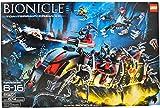 Lego Year 2007 Bionicle Series Set # 8927 - TOA TERRAIN CRAWLER with Cordak Blaster, Sea Squids, Solidified Air Spheres, Glow-in-the-Dark Jellyfish, 6 Miniature Toa Mahri and 4 Miniature Barraki Figures (Total Pieces: 674)