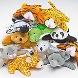Baker Ross Lot de 10 Mini Amis Animaux Haricots - pour Les Amoureux des Peluches