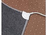 infactory Heizteppich: Beheizbare Infrarot-Fußboden-Matte, Vliesstoff, 105x55cm, 60 °C, 155 W (Fussbodenmatte) - 3