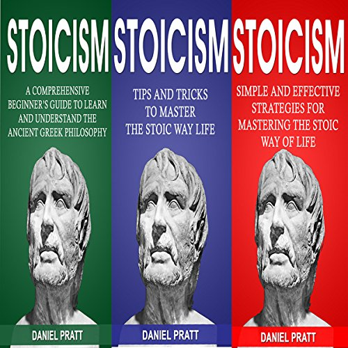 Stoicism: Bible of 3 Books in 1 audiobook cover art