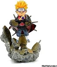 Naruto Shippuden: Naruto Pain Statue PVC Figure - Anime Figure Naruto Features Six Paths of Pain Action Figure - Transmigration Eye Pain - Chibaku Tensei - High 25CM