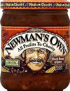 Newmans Own Salsa Black Bean & Corn, 16 oz