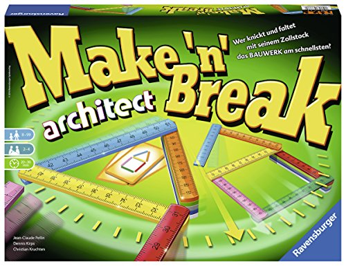 Ravensburger 26345 - Make 'n' Break architect