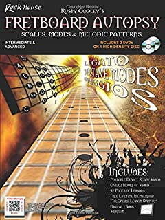 Rusty Cooley's Fretboard Autopsy: Scales, Modes & Melodic Patterns