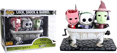 POP! Funko Movie Moments: Disney's The Nightmare Before Christmas - Lock,Shock & Barrel (Exclusive) #474