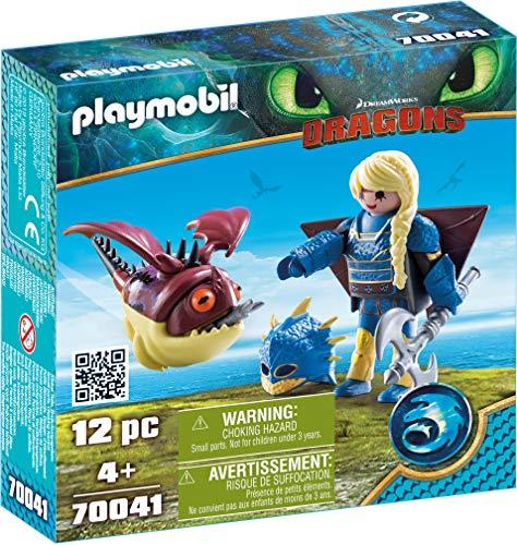 Playmobil Dragons 70041 Astrid En Schrokbakkes