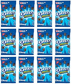 12-Pack OREO Mini Chocolate Sandwich Cookies, Original Flavor