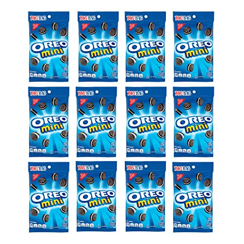 OREO Mini Chocolate Sandwich Cookies, Original Flavor, 12 Big Bags