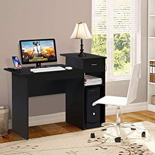 Best yaheetech small spaces home office black computer desk Reviews