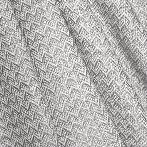 Lorenzo Cana High End Kaschmir-Decke 100% Kaschmir flauschig weiche Wohndecke Decke handgewebt Sofadecke Kaschmirdecke Wolldecke 96119