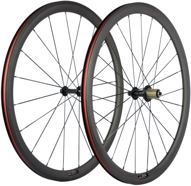 SunRise Seattle Mall Bike 1 Pair of Road 700C Clincher Dallas Mall S Carbon Wheelset
