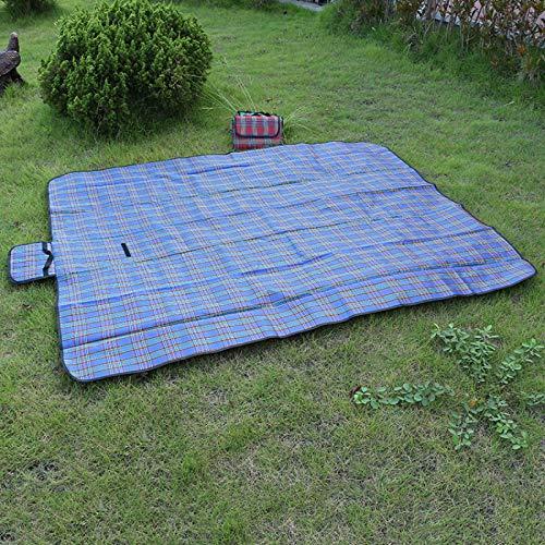 TENGCHUANGSM Durable Camping Mat Plaid Plegable Camping Colchón Bebé Escalada Al Aire Libre Impermeable Playa Picnic Manta Para Multijugador Picnic
