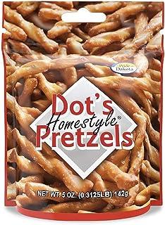 Dot's Homestyle Pretzels 5 oz. Bag (Single Bag) Snack Sized Seasoned Pretzel Snack Sticks
