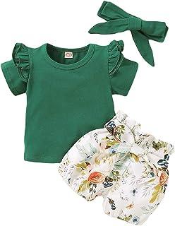 CARETOO - Conjunto de 3 piezas para bebés y niñas, de algo